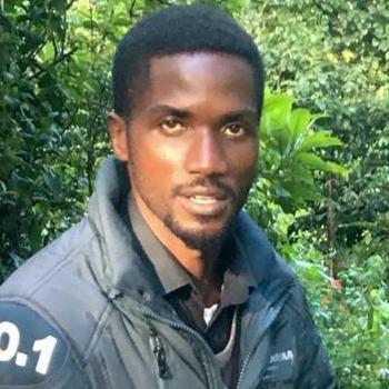 Herbert Ongubo at Brackenhurst