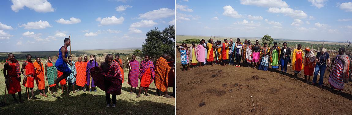 Visit to Maasai Village in Kenya