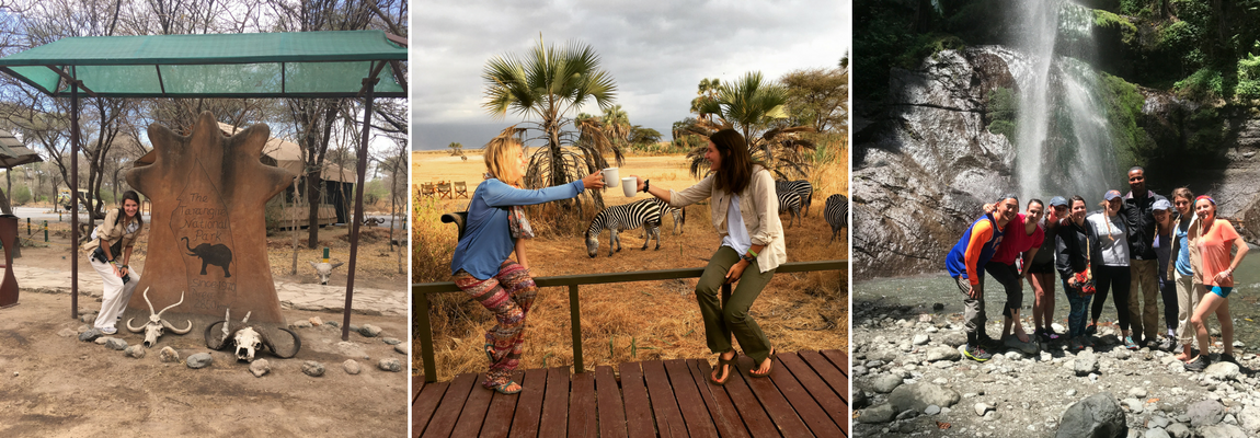 Stony Brook University Physical Therapy students in Tanzania